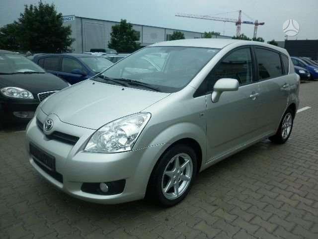 Toyota Corolla Verso. Darbo laikas: i-v  8.00-17.00 val.