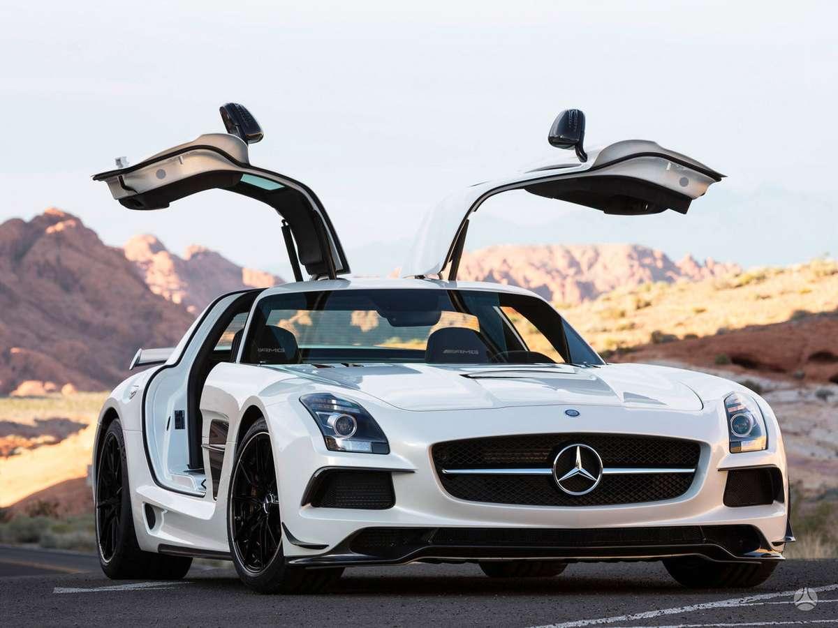Mercedes-Benz SLS AMG. !!!! naujos originalios dalys !!!! !!! но