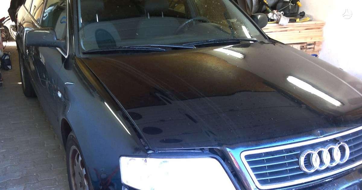 Audi A6. Audi a6 avant dalimis tel' 8 698 3106  , pradedu