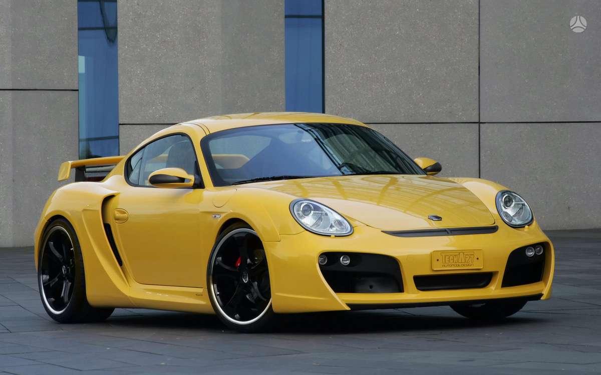 Porsche Cayman. !!!! tik naujos originalios dalys !!!!  !!!