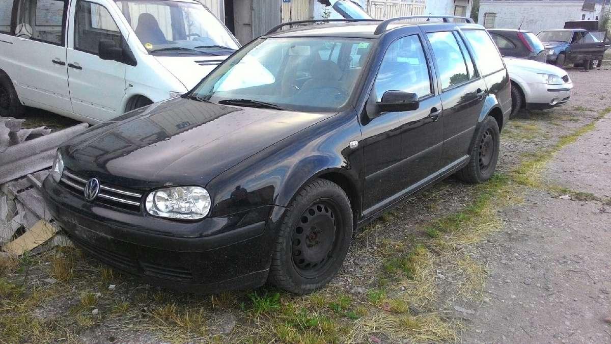 Volkswagen Golf. Golf4 2,0 benzinas 85kw vokiskas, turiu ir