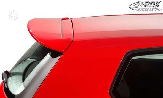 Volkswagen Golf. Spoileriai galiniai lango, galinio bamperio