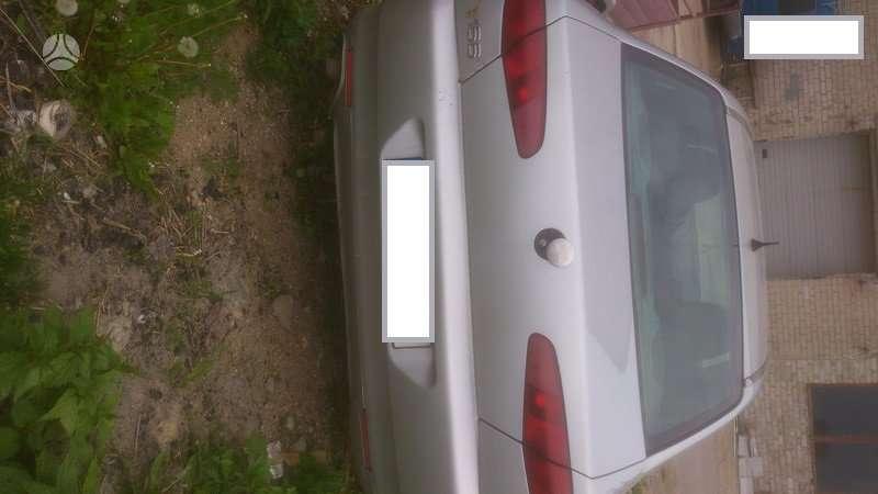 Alfa Romeo 166 dalimis. Ar 166 2.4 129kw jtdm 6 begiai mech