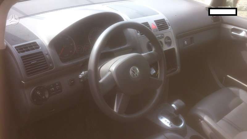Volkswagen Touran dalimis. panele 200    skambinti šiais