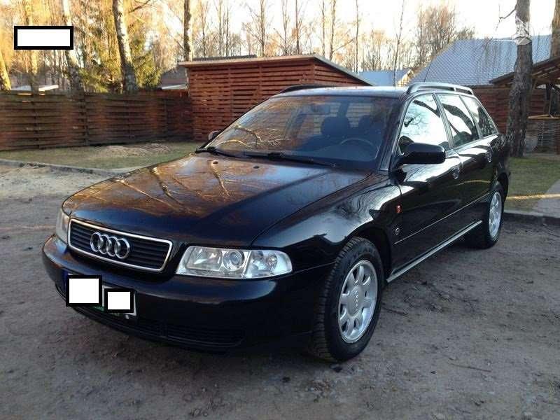 Audi A4 dalimis. Audi a4 1.9 tdi 81 kw quatro karavanas 99m