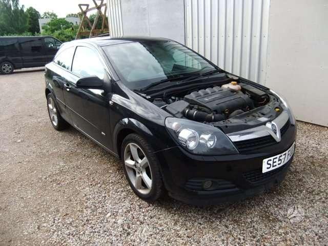 Opel Astra. 1.9 dyz  6 begiai   rida 145000 km     juodos