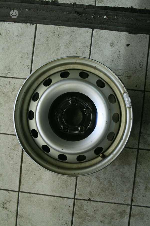 Peugeot, plieniniai štampuoti, R15