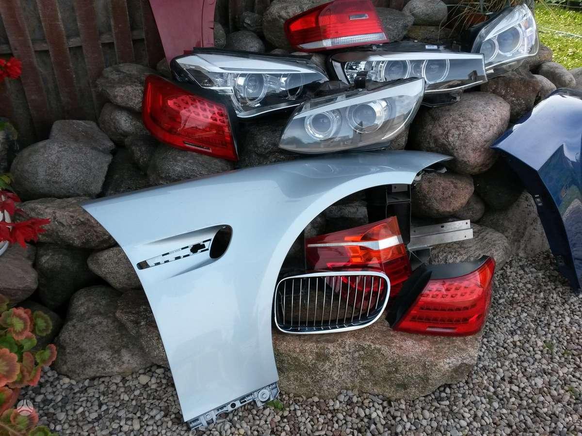 BMW M3. Priekinis, galinis buferiai, gal.bamperio balkis [