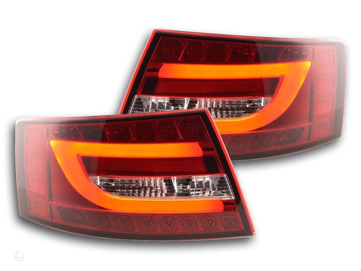 Audi A6. .galiniai zibintai tube audi a6 04-08m.-1-7 pvz-