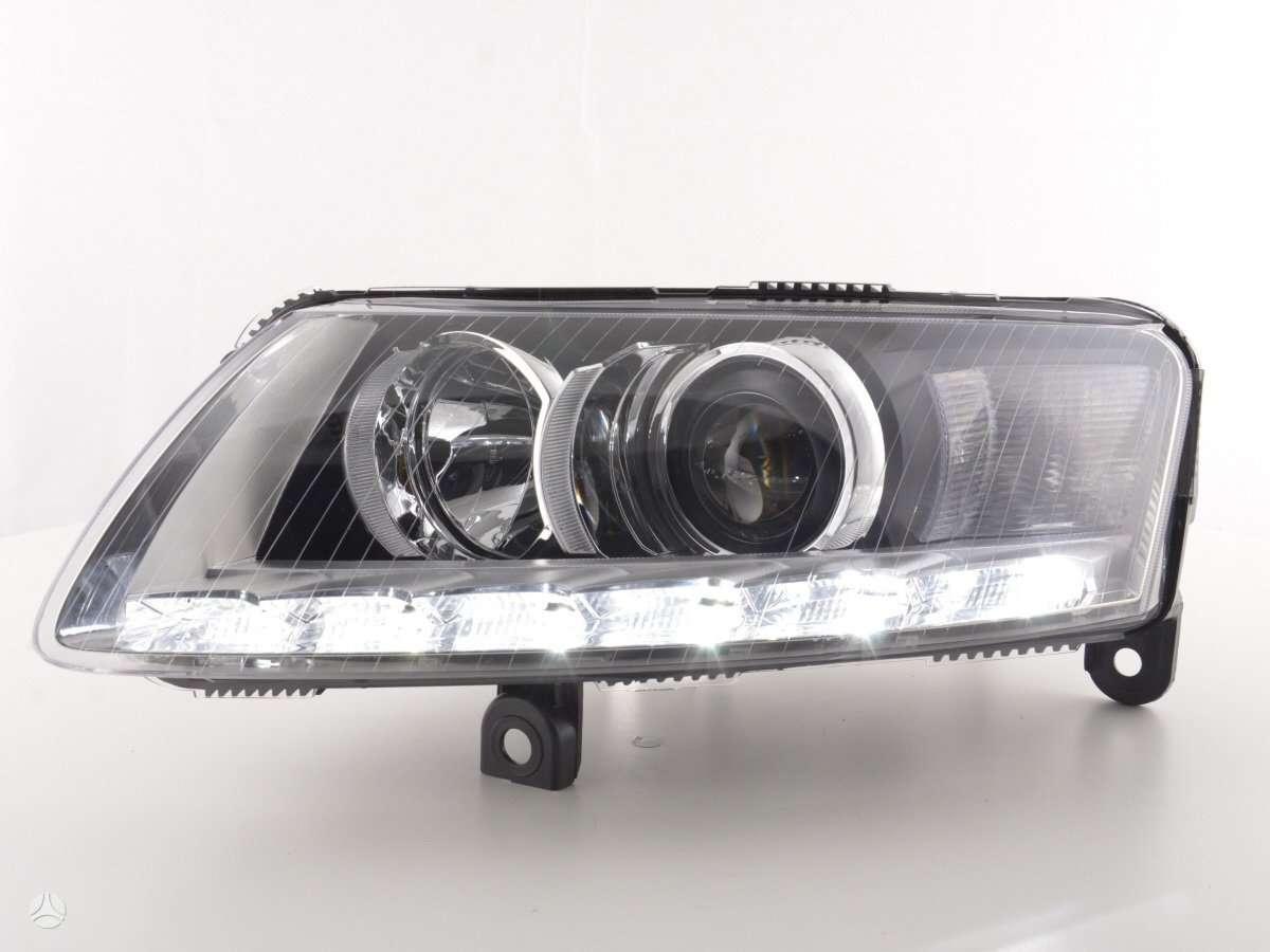 Audi A6. D3s xenon priekiniai zibintai- nuo 08-11m lemputes -d3s/