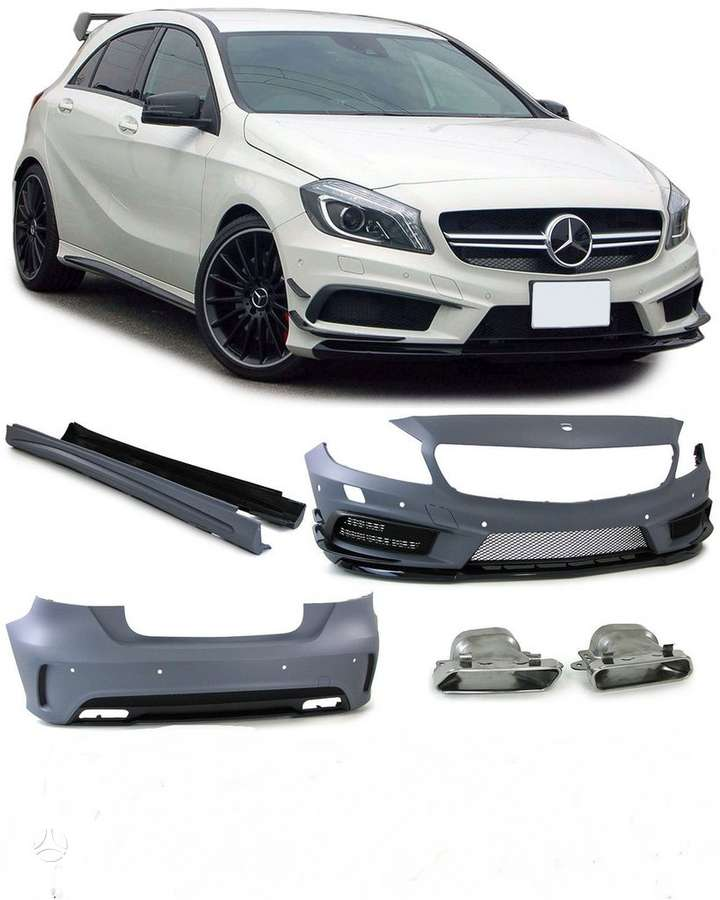 Mercedes-Benz A klasė. Amg look w176 a45 komplektas.naujas -