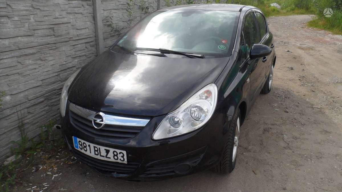Opel Corsa dalimis. Opel corsa 1.3 dyzel.mechanika 6 begiai