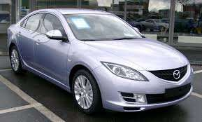 Mazda 6 dalimis