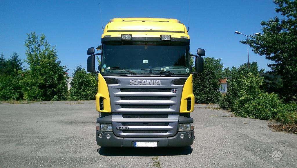 Scania R 420, vilkikai