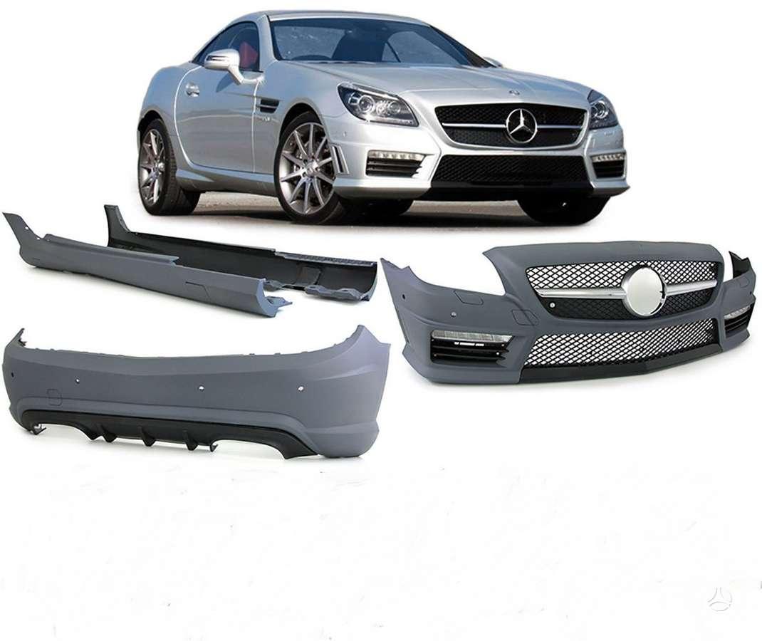 Mercedes-Benz SLK klasė. Amg 55 komplektas.priekinis ,galinis