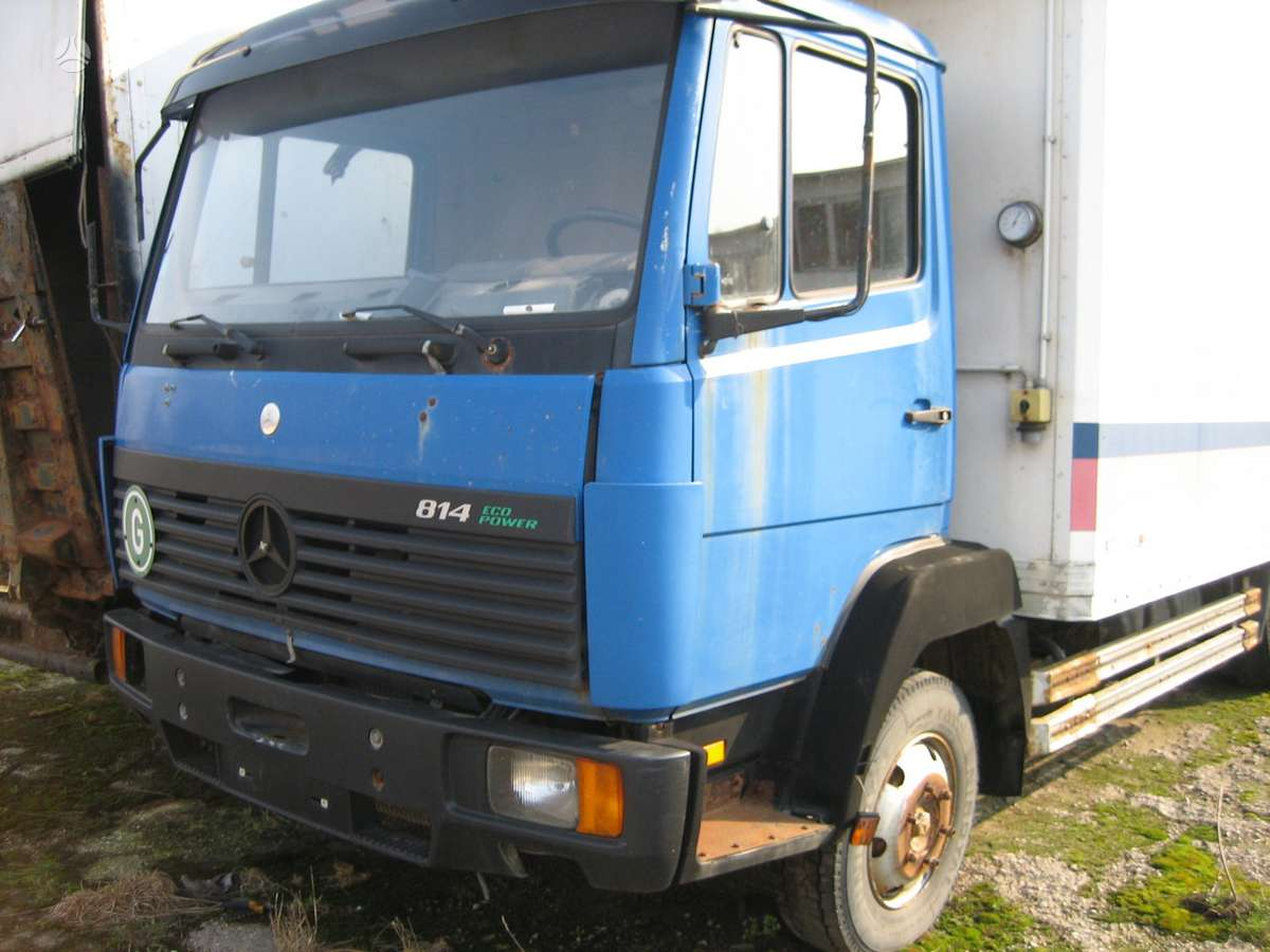 Mercedes-Benz 809 814 815 817 1020 1422 1824, sunkvežimiai