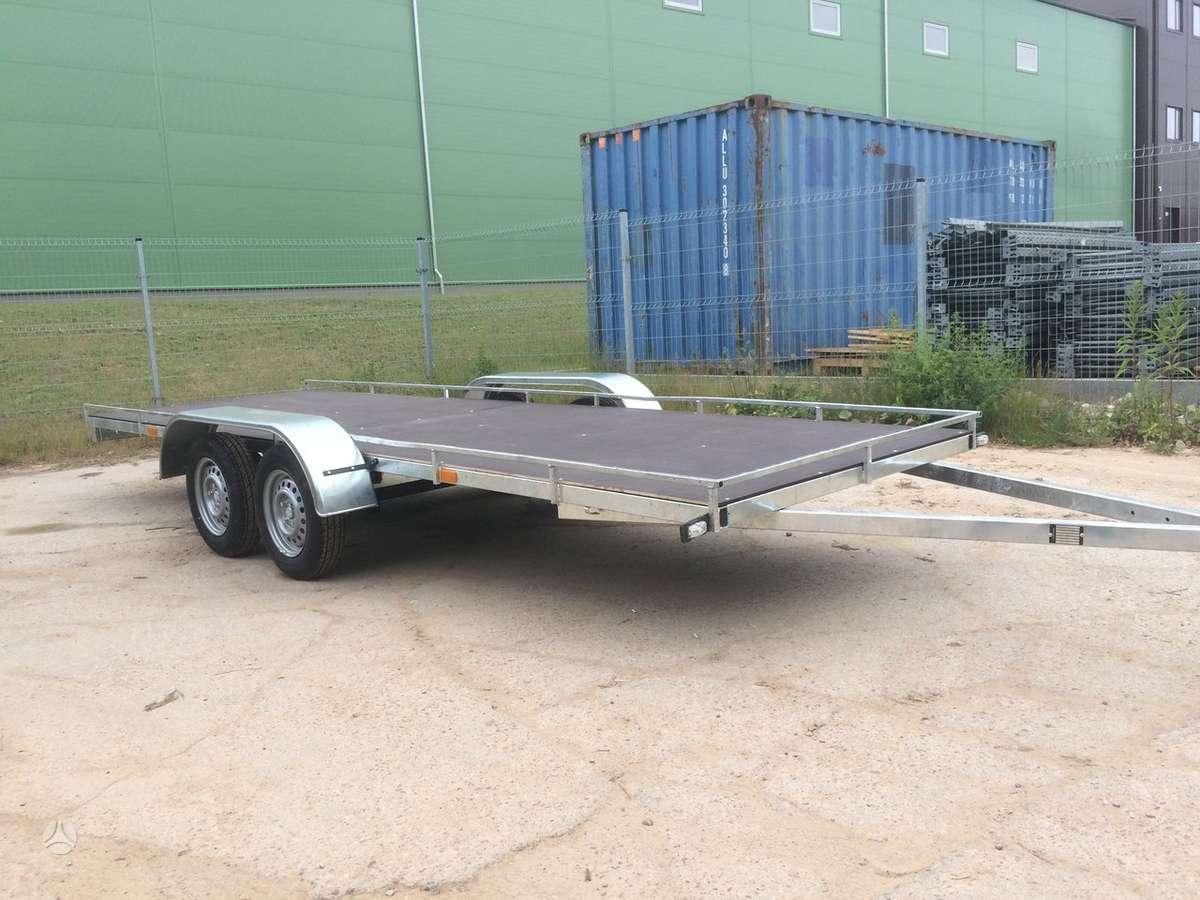 Baltic trailer B2P-5000x2, lengvųjų automobilių priekabos