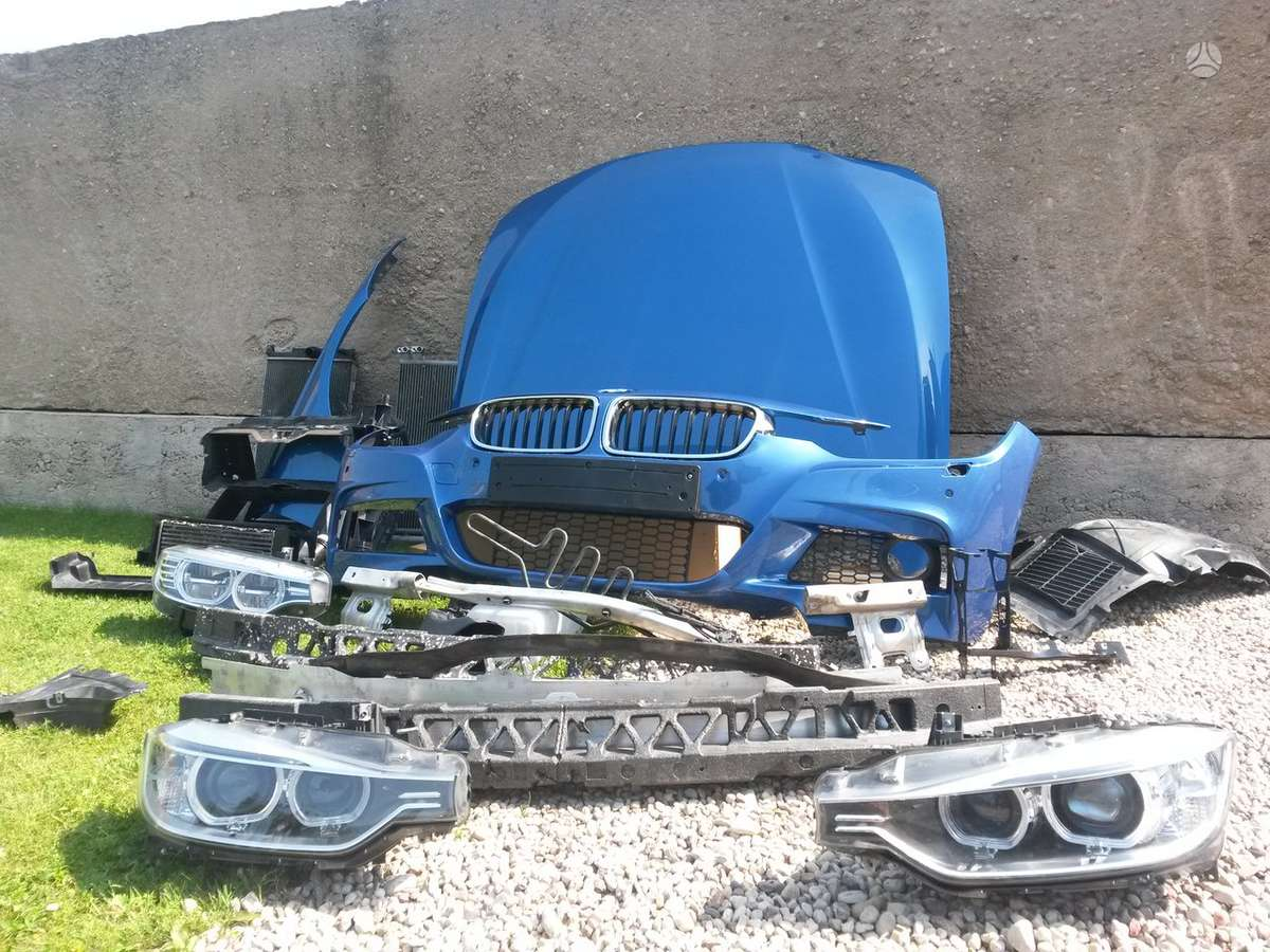 BMW 3 serija. Priekinis, galinis buferiai ; galinis buferis m,