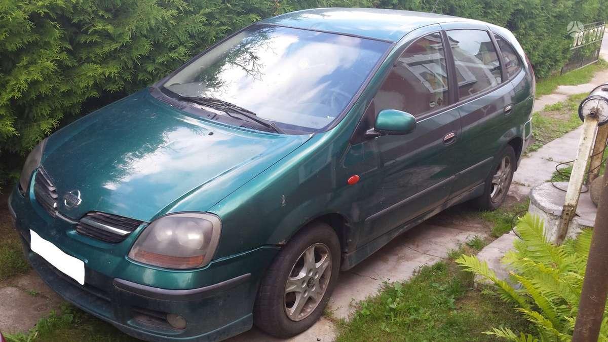 Nissan Almera Tino. Nisan almera tino 2.2d 01m.,,dalimis,,kainos