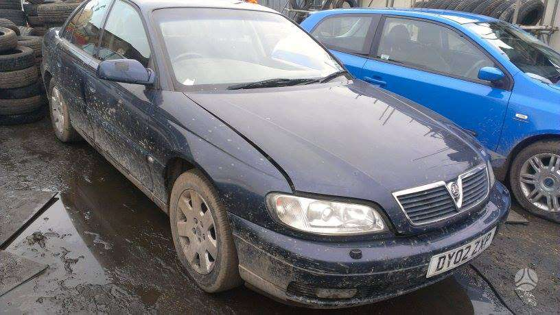 Opel Omega. Yra 2.2dyz ir 2.2benz