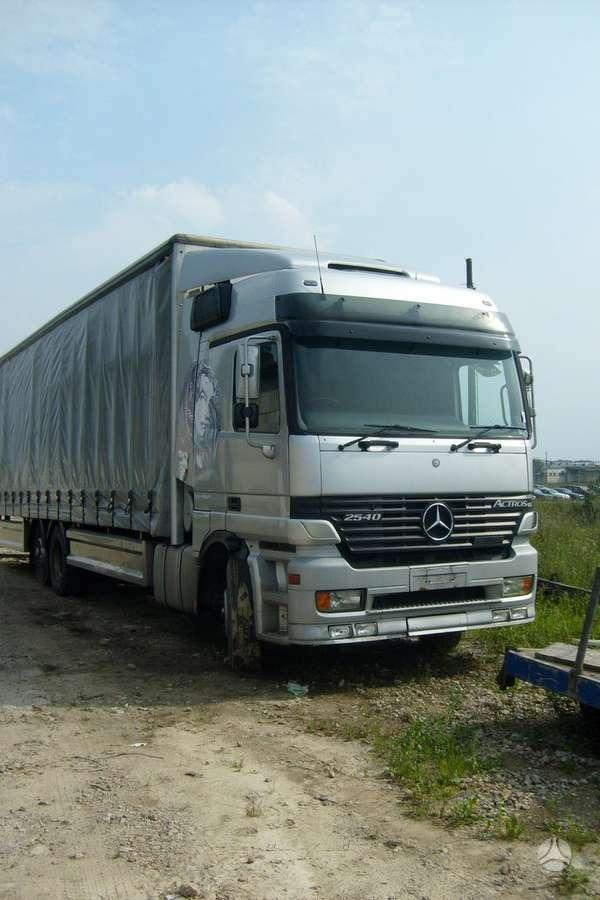 Mercedes-Benz ACTROS 2540 OM 501 LA, sunkvežimiai