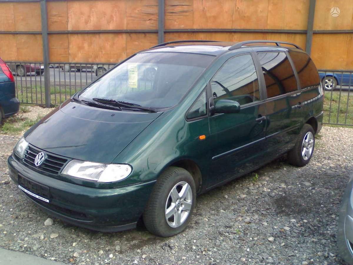 Volkswagen Sharan. Turiu 2.0 benz ir 1.9 66kw