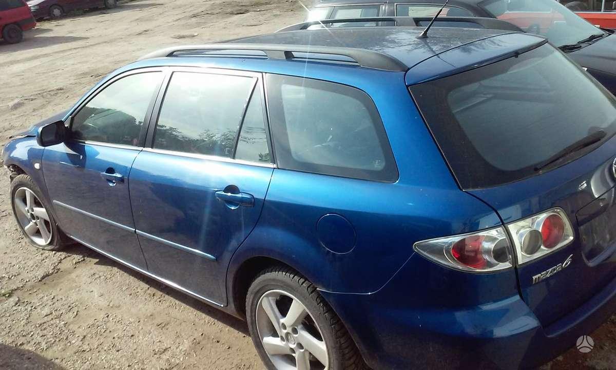 Mazda 6. Storke, r16 ratlankiai, neseniai ideti visiskai nauji