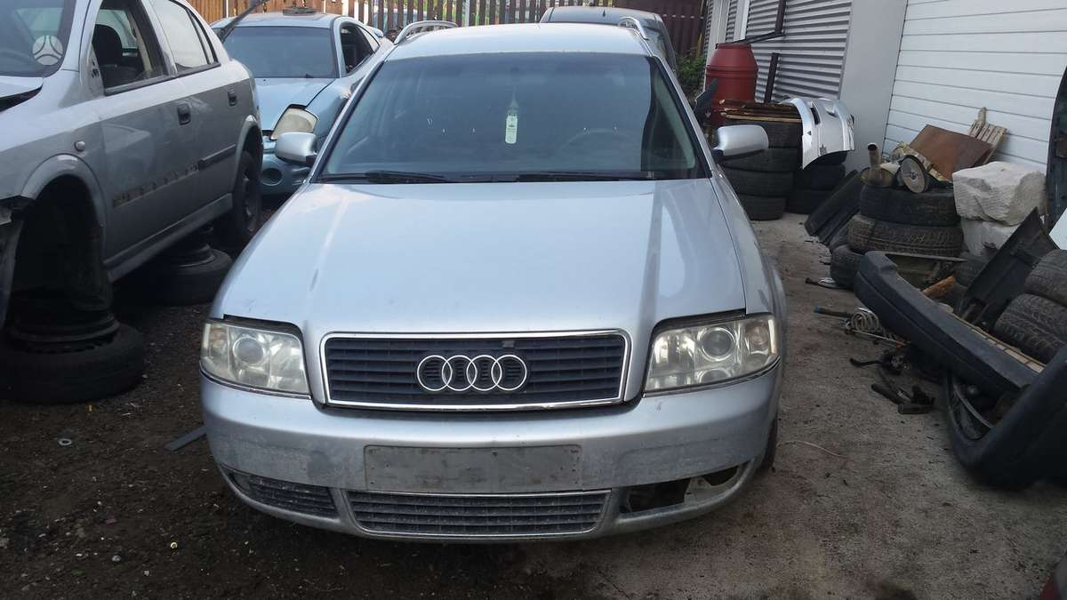 Audi A6. Audi a6 01m. 2.5tdi 114kw, , dalimis, , kainos