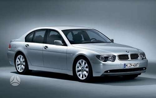 BMW 7 serija dangtis (priekinis, galinis), žibintai