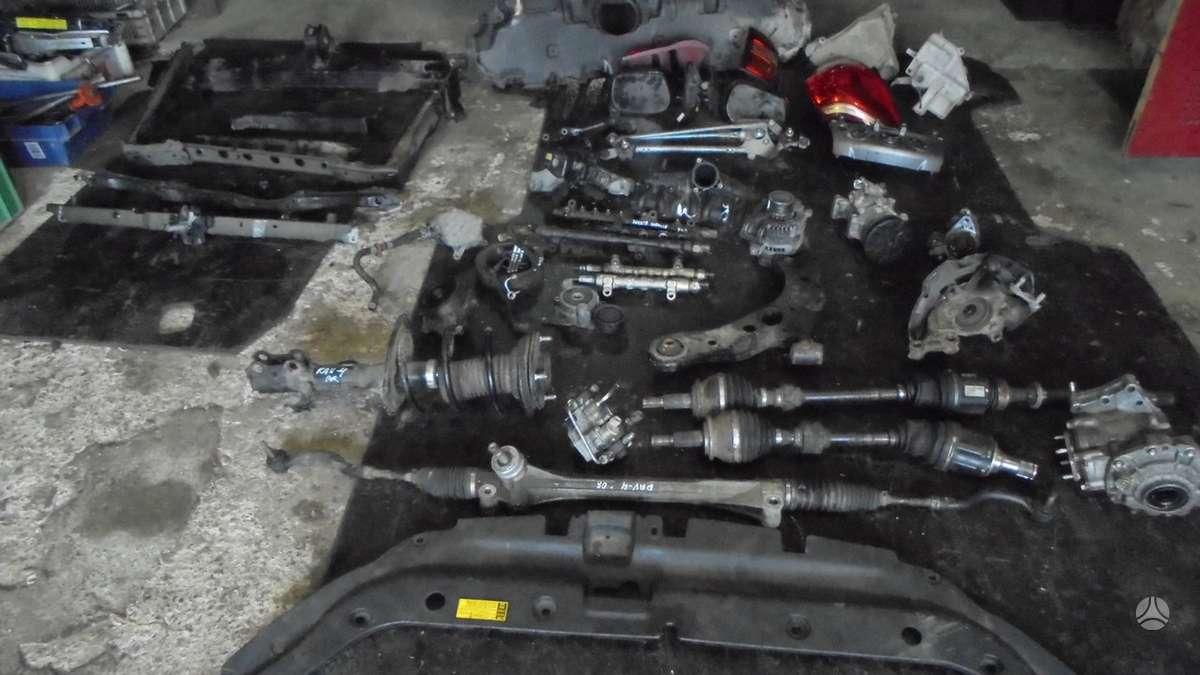 Toyota RAV4. Variklio kodas 2ad