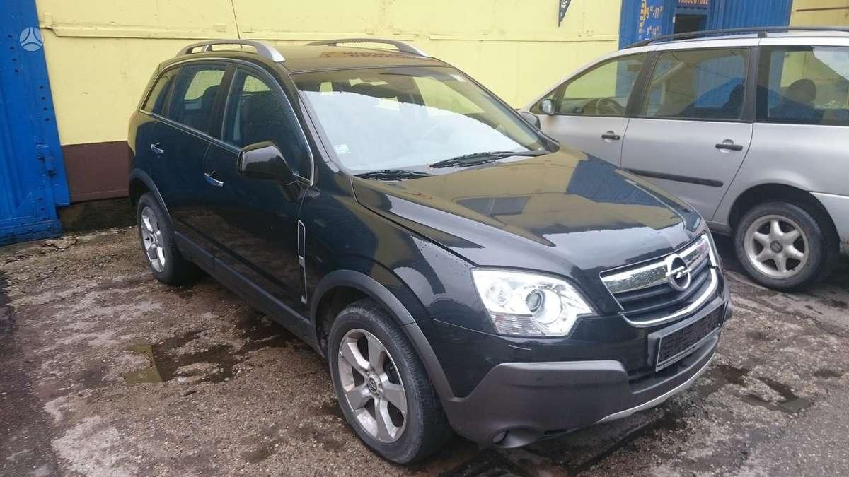 Opel Antara. Europinis dalimis tel. +370-699-83495, +37068512812