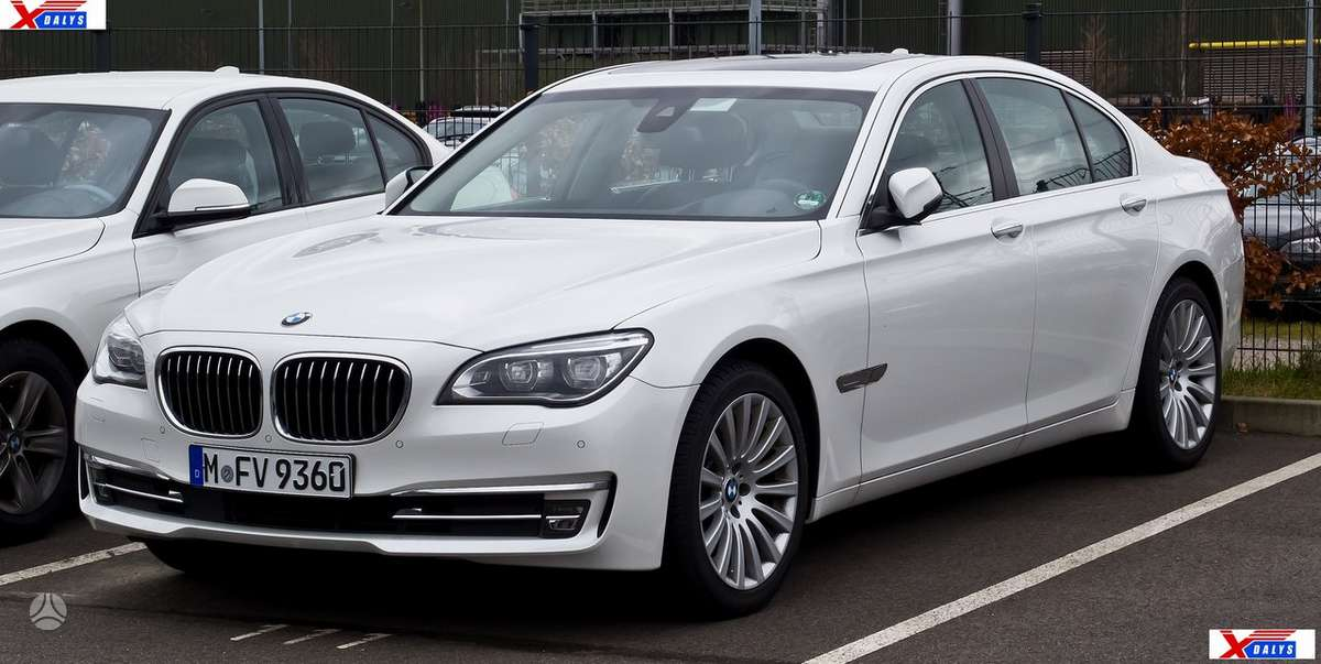 BMW 7 serija dalimis. Jau dabar e-parduotuvėje www.xdalys.lt jūs
