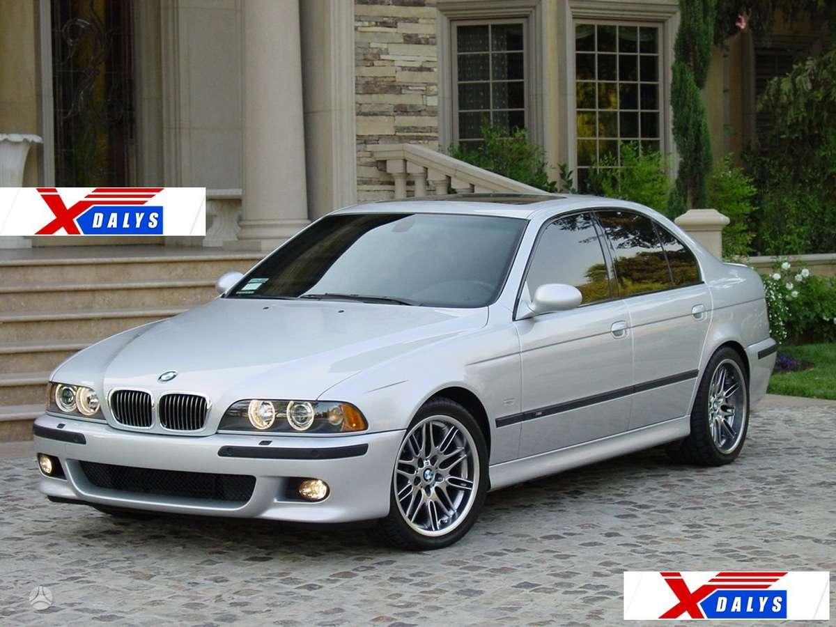 BMW 5 serija dalimis. Jau dabar e-parduotuvėje www.xdalys.lt jūs