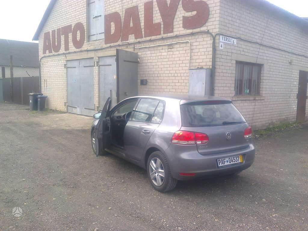 Volkswagen Golf. 6-europadetales nuo a iki z *garantija*