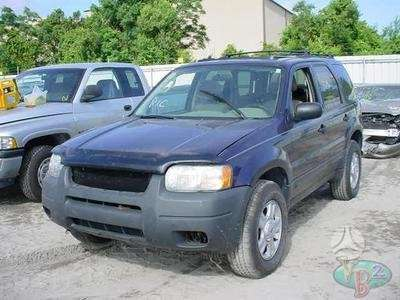 Ford Escape. Automobilis dalimis turime daugiau sio modelio