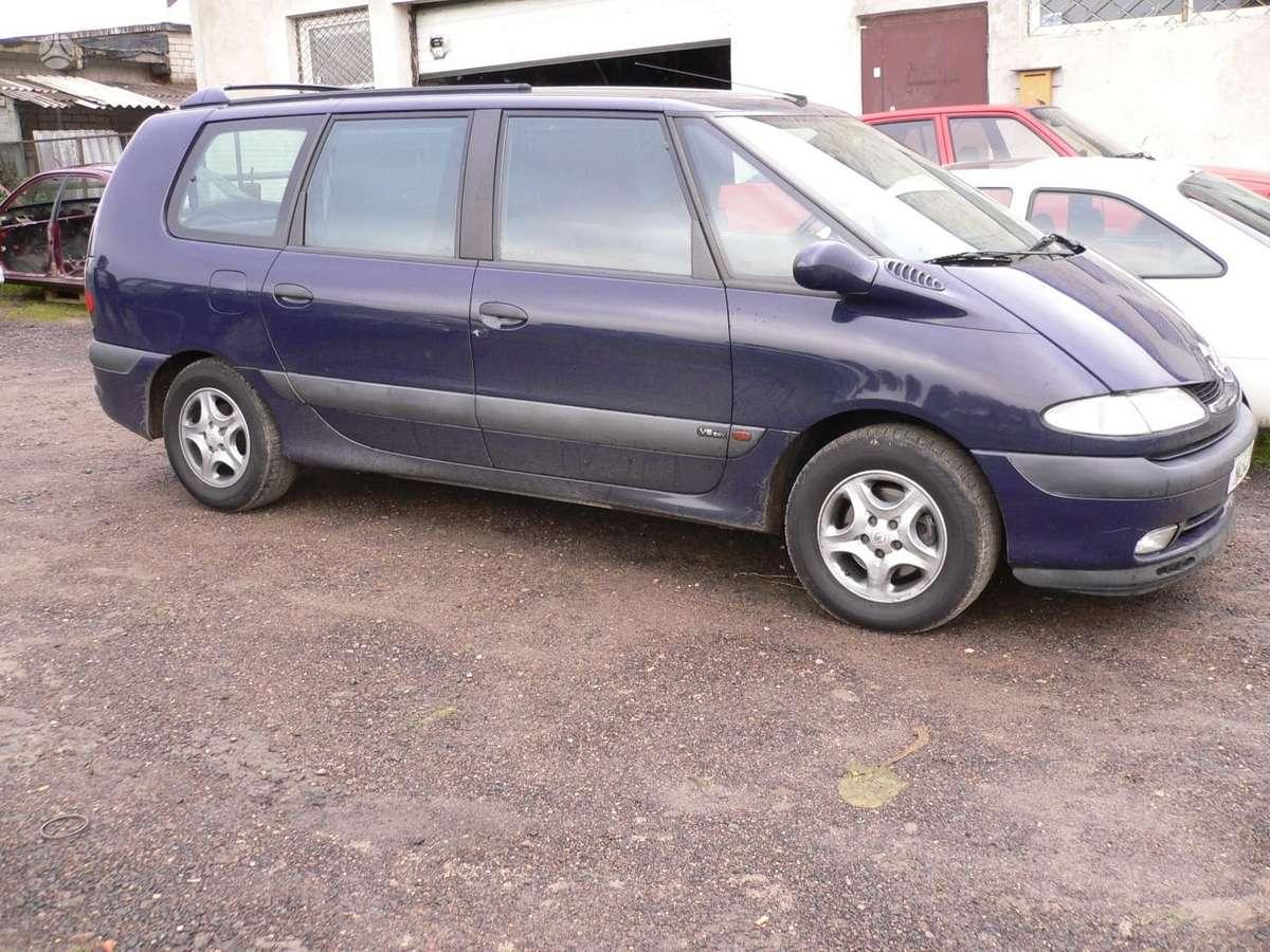 Renault Espace. Reno espace nuo 90-01m.(2.0:2.2;2.2dci:2.1td:2.8:
