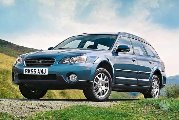 Subaru Outback. Naudotu ir nauju japonisku automobiliu ir
