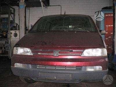 Peugeot 806. Automobilis is vokietijos-2.0:2.0turbo:2.1td taip