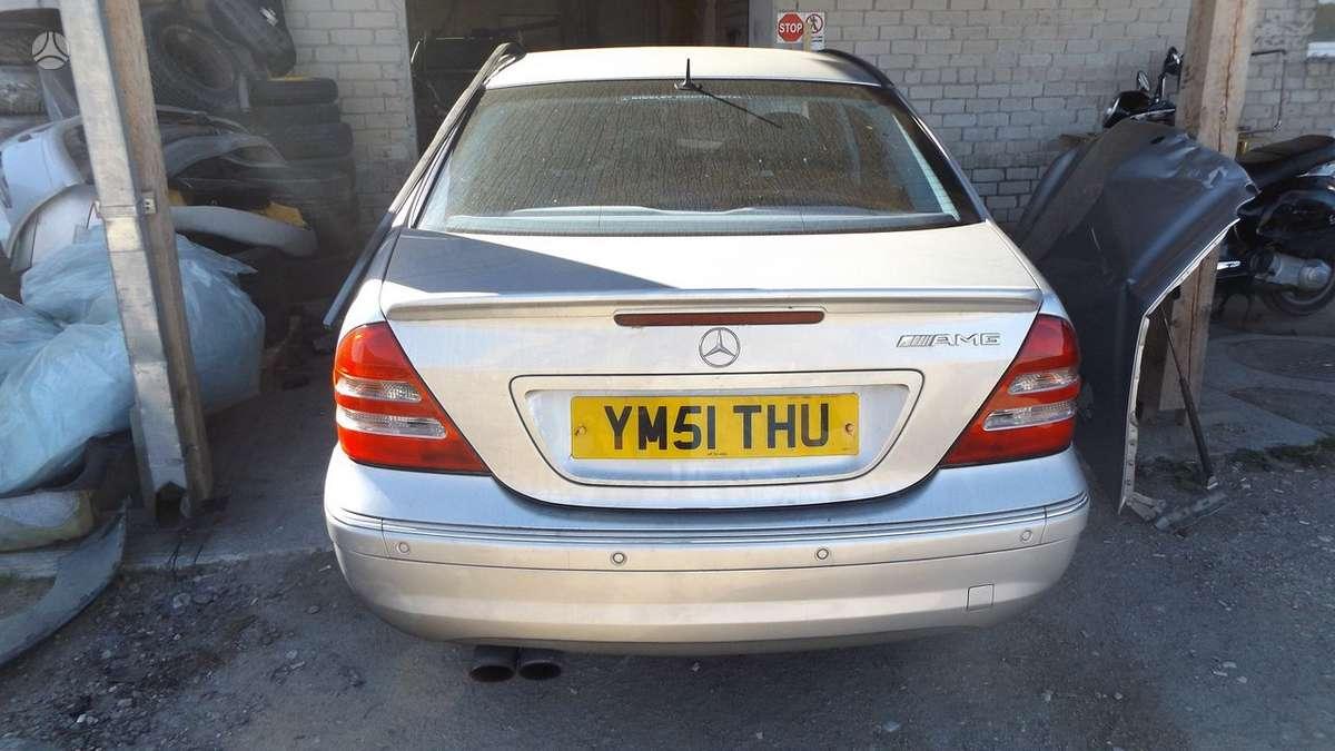 Mercedes-Benz C32 AMG dalimis. Mb c320 amg special edition  *