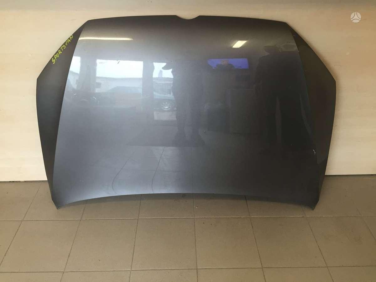 Volkswagen Golf Sportsvan. Kapotai bamperiai xenon žibintai (