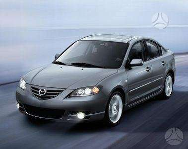 Mazda 3. Naudotos ir naujos japoniškų ir korėjietiškų a/m kė