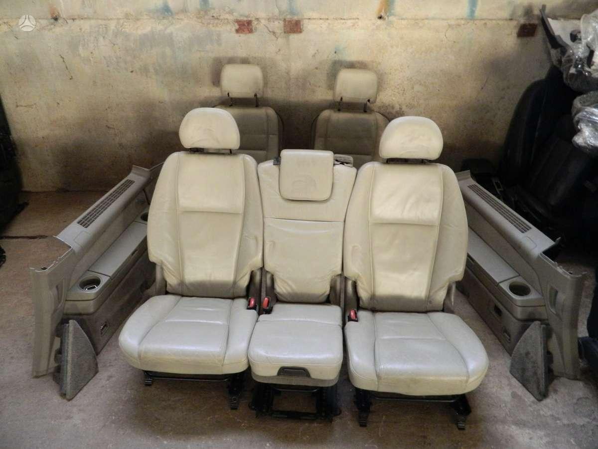 Volvo XC90 durų apmušalai, apdailos detalės, sėdynės
