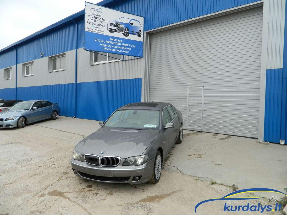 BMW 7 serija. Turime ir daug kitų automobilių dalimis bmw 730d