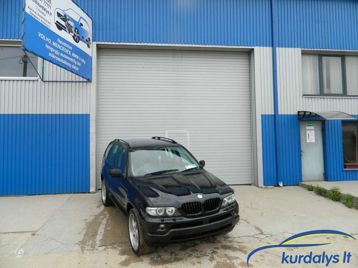 BMW X5. Turime ir daug kitų automobilių dalimis bmw x5 3l