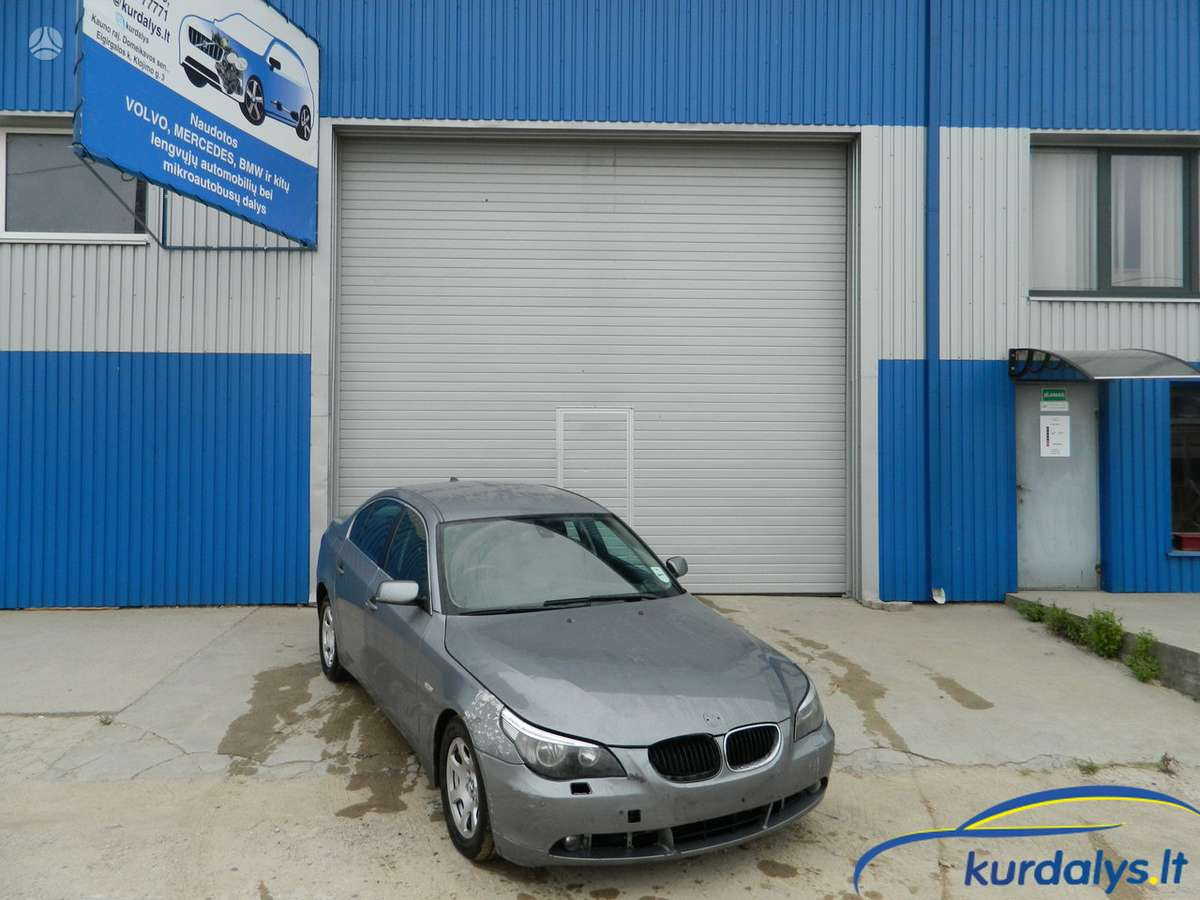 BMW 5 serija. Turime ir daug kitų automobilių dalimis bmw 525