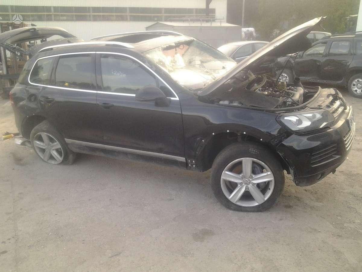 Volkswagen Touareg. El.bagazines dangtis