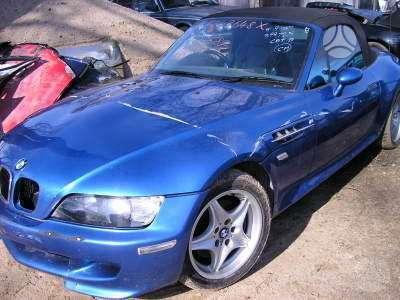 BMW Z3 dalimis. Bmw z3 roadster 1.8 1998m. bmw z3 roadster 2.8