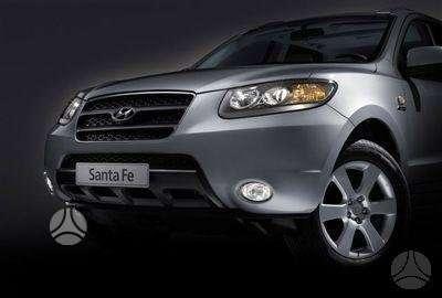 Hyundai Santa Fe. Naudotos ir naujos japoniškų ir korėjietiškų