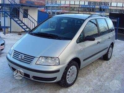 Volkswagen Sharan. Autodalys taip pat perkame automobilius