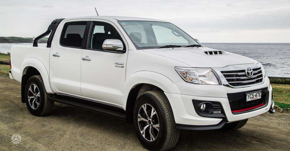 Toyota Hilux dalimis. !!!! tik naujos originalios dalys !!!!